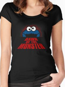 Dawn of the monster  Women's Fitted Scoop T-Shirt