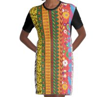 Fashion Killa Graphic T-Shirt Dress