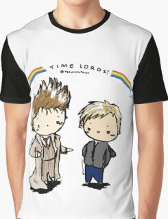doctor and master time lords Graphic T-Shirt