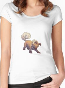 Iwanko Women's Fitted Scoop T-Shirt