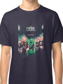 The Purge Election Year foor one night only Classic T-Shirt