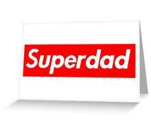 Superdad Greeting Card