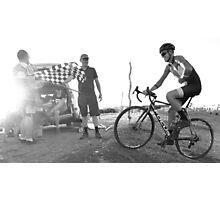 Australian Summer Cyclocross   Photographic Print