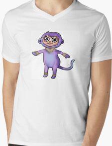 Violet Monkey  T-Shirt