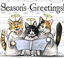 carols by kittens with text by Danelle Malan