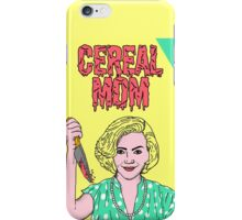 Cereal Mom iPhone Case/Skin
