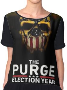 The Purge Election Year Chiffon Top