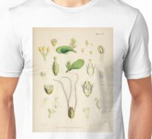 The botany of the Antarctic voyage of H M  discovery ships Erebus and Terror in the Years 1839 1843 Joseph Dalton Hooker V1 090 Unisex T-Shirt