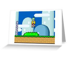 Mario Bros. 1Up Apple Greeting Card