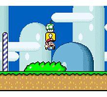Mario Bros. 1Up Apple Photographic Print
