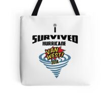 I Survived Hurricane Van West 2014 - Dubfotos Design Tote Bag