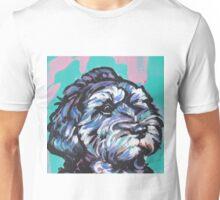 Cockapoo Dog Bright colorful pop dog art Unisex T-Shirt