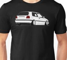 MKIII Gti Graphic-no text-White ink Unisex T-Shirt