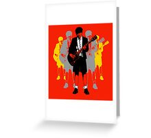 Taking the Lead - Angus Young Greeting Card