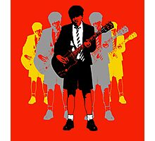 Taking the Lead - Angus Young Photographic Print