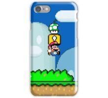 Mario Bros. 1Up Apple iPhone Case/Skin