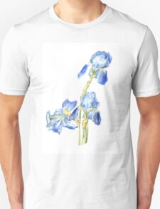 Blue irises T-Shirt