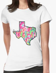 Lilly Texas Womens Fitted T-Shirt