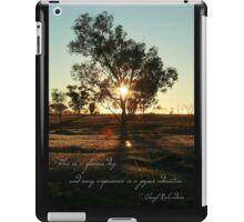 Glorious day iPad Case/Skin