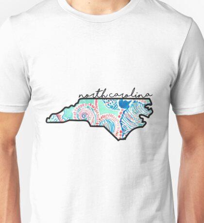 North Carolina Print Unisex T-Shirt
