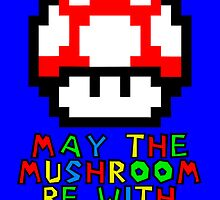 May the Mushroom be with you by ABOhiccups