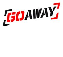 Cool Go Away Text Stempel by Style-O-Mat