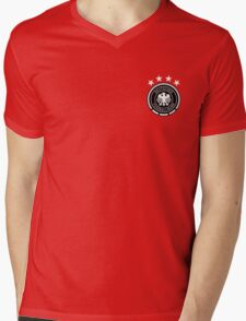 Germany National Football -  Euro 2016 Mens V-Neck T-Shirt