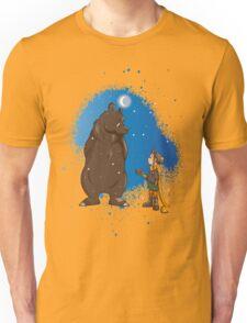Nice to meet you mister bear! Unisex T-Shirt