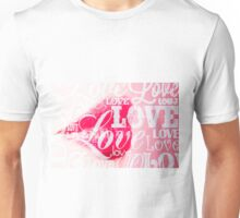 Love Lips red Unisex T-Shirt