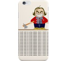 Jack Torrance iPhone Case/Skin