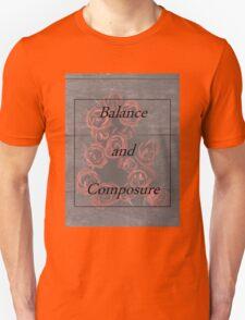 Balanace and Composure Roses T-Shirt