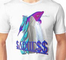 Purple Dolphin Vaporwave aesthetics Unisex T-Shirt