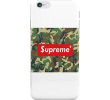 Supreme camo box logo iPhone Case/Skin