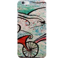 Ciclista III iPhone Case/Skin