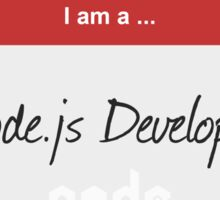 Hello I'm a Node.js Developer Sticker