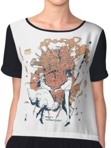 howl's moving castle Chiffon Top