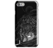 Berserk - Guts Glowing Eye Large w/o Brand iPhone Case/Skin