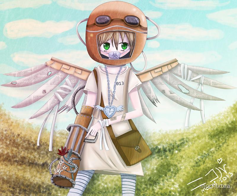 Paper Wings by mochixtea