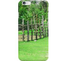 Holding Pen in a Pasture iPhone Case/Skin