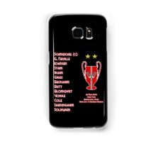 Manchester United 1999 Champions League Winners Samsung Galaxy Case/Skin