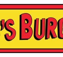 Bob's Burgers Sign Sticker