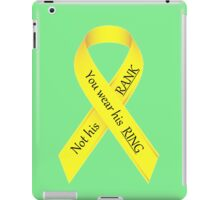 Military Wives iPad Case/Skin