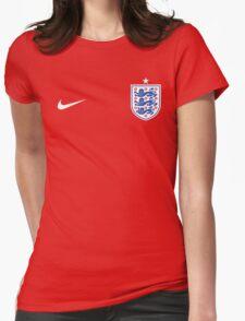 England Football Euro 2016 UEFA Womens Fitted T-Shirt