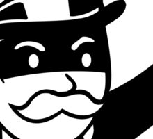 Rich Uncle Pennybags Sticker
