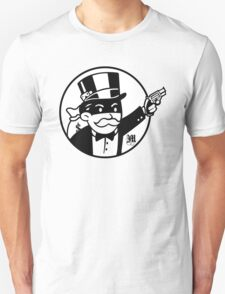 Rich Uncle Pennybags Unisex T-Shirt