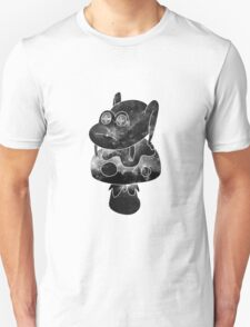 space frogger b&w Unisex T-Shirt