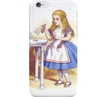 Alice and the Drink iPhone Case/Skin