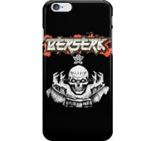 Berserk Skull Knight Bust iPhone Case/Skin