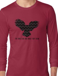 Twin Peaks - The Owls Are Not What They Seem Long Sleeve T-Shirt