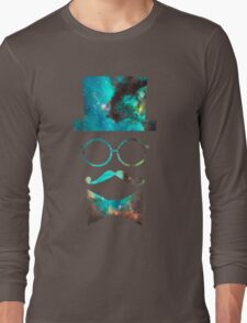 Green Galaxy Fancy Long Sleeve T-Shirt